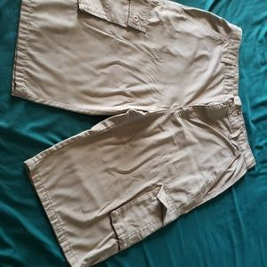 Red ape cargo shorts